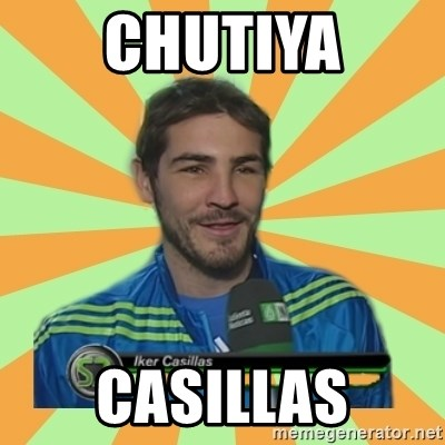 Iker Casillas - Chutiya Casillas