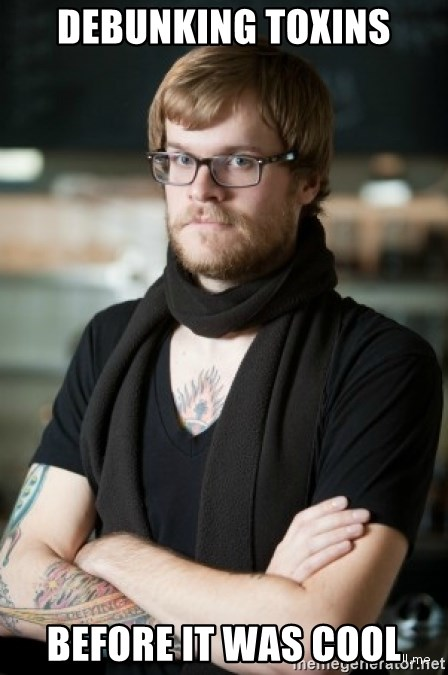 hipster Barista - DeBUNKING TOXINS before it was cool