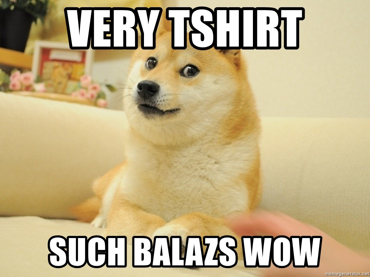 so doge - very tshirt such balazs wow