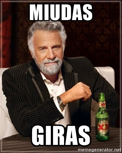 The Most Interesting Man In The World - Miudas GIRAS