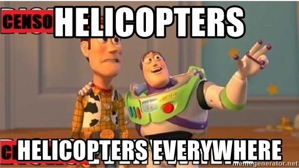 Toy Story Everywhere - Helicopters Helicopters everywhere