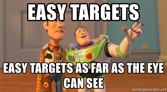 buzz as far as the eye can see - Easy Targets  Easy Targets As Far As The Eye Can See