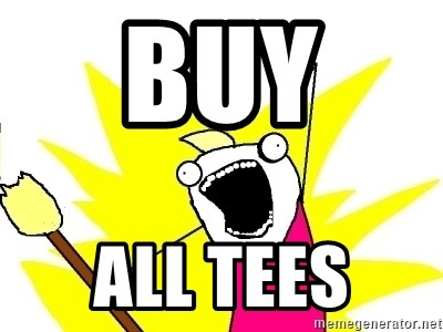 X ALL THE THINGS - buy  all tees