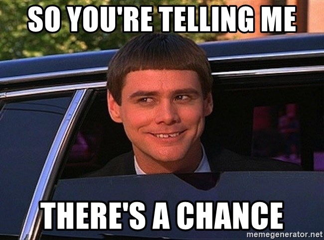 Jim Carrey Limo - so you're telling me there's a chance