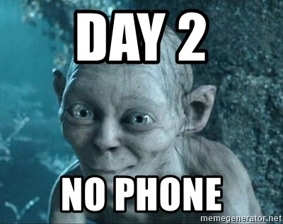 Image result for no phone meme