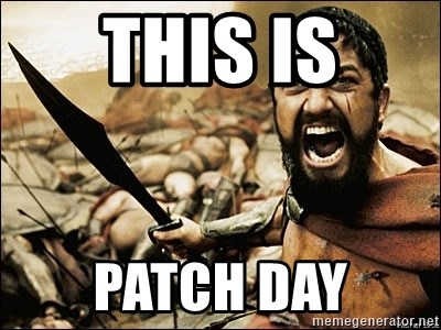 this is patch day