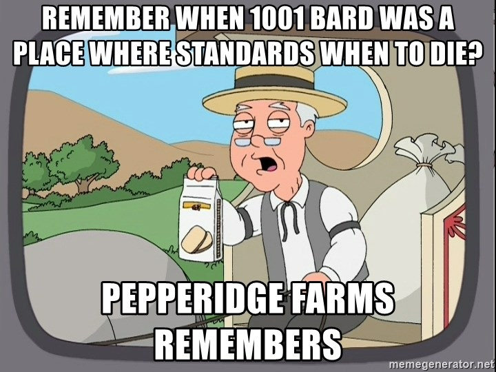 Family Guy Pepperidge Farm - Remember when 1001 Bard was a place where standards when to die?  Pepperidge Farms remembers