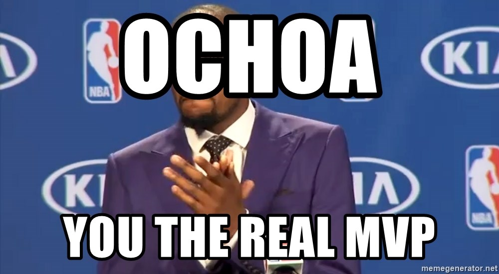 KD you the real mvp f - Ochoa  You the real mvp