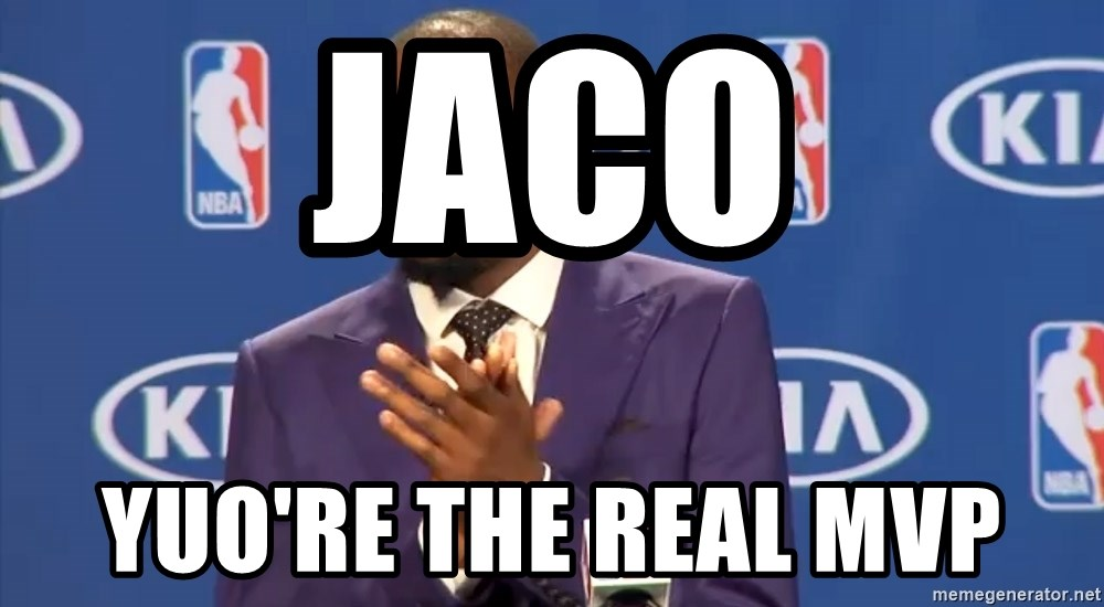 KD you the real mvp f - Jaco Yuo're the real MVP