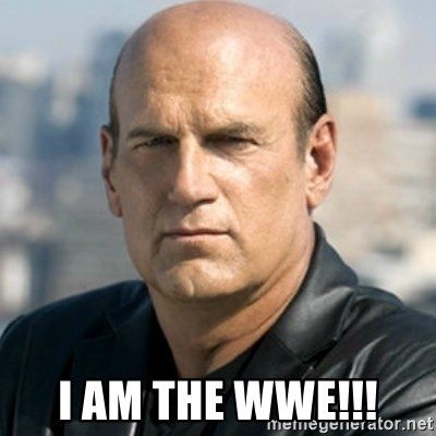 Jesse Ventura -  I AM the WWE!!!