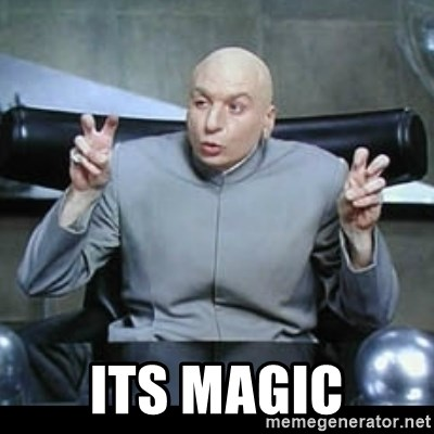 dr. evil quotation marks -  its magic