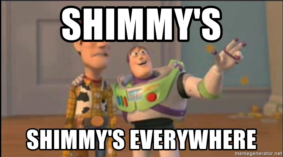X, X Everywhere  - Shimmy's SHIMMY'S EVERYWHERE