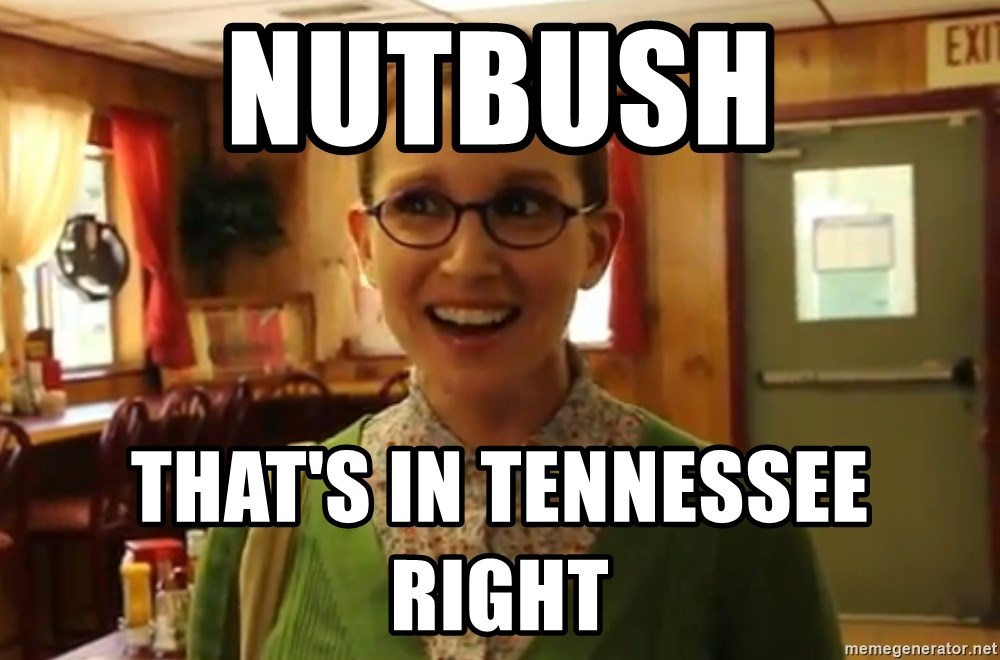 Sexually Oblivious Female - Nutbush that's in Tennessee right