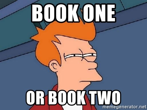 FRY FRY - Book one or Book two