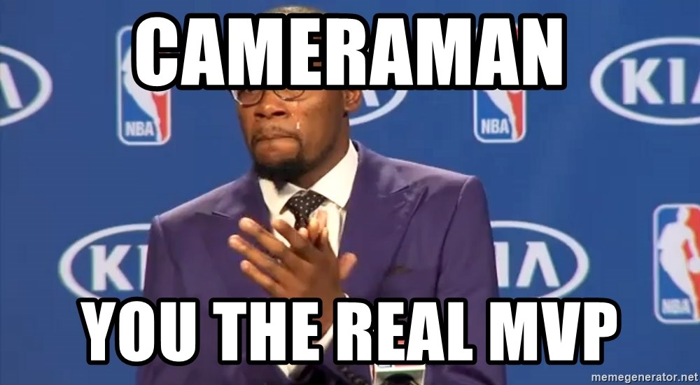 KD you the real mvp f - Cameraman  you the real mvp