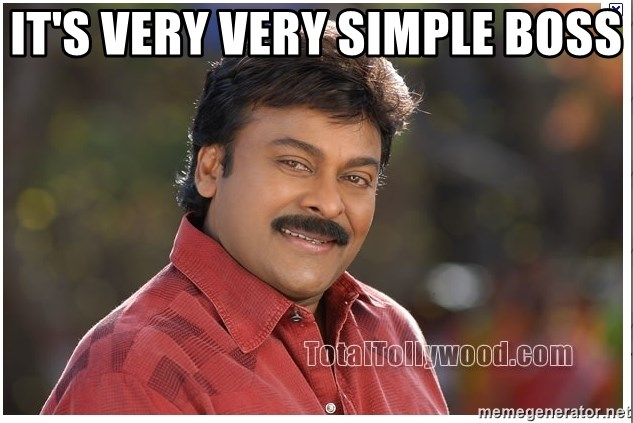 Typical Indian guy - IT's VERY VERY SIMPLE BOSS