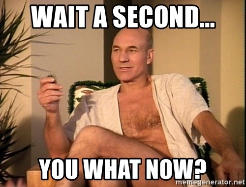 Sexual Picard - Wait a second... you what now?