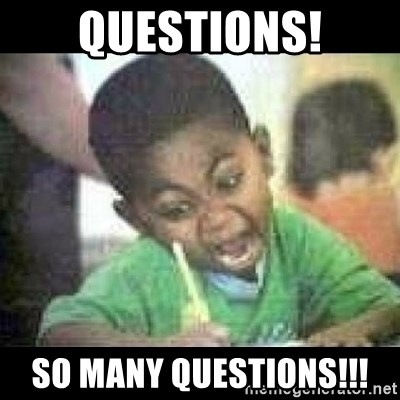 questions so many questions black kid coloring