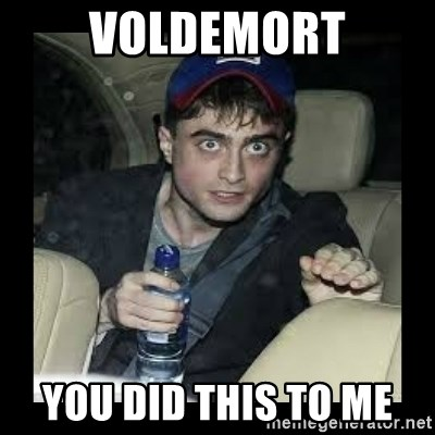 Voldemort You Did This To Me High Harry Potter Meme Generator