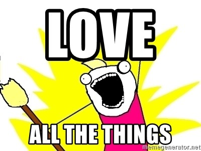 X ALL THE THINGS - LOVE      ALL THE THINGS