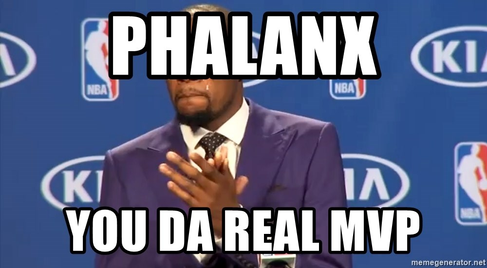 KD you the real mvp f - Phalanx you da real mvp