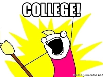 X ALL THE THINGS - College!