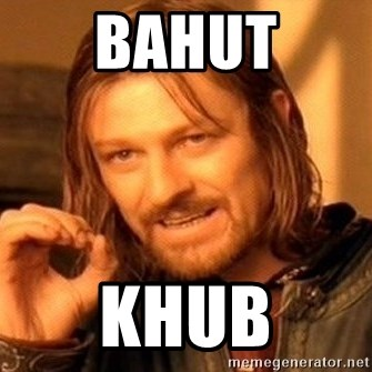 One Does Not Simply - bahut khub