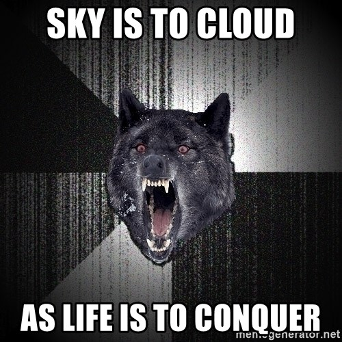 Insanity Wolf - Sky is to cloud As life is to conquer
