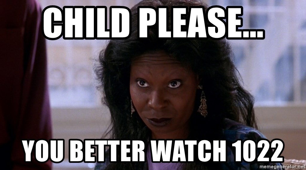 Whoopi Goldberg Ghost 2 - child please... you better watch 1022