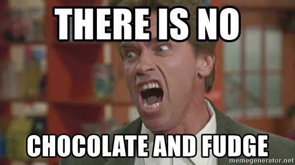 Arnold - THERE IS NO CHOCOLATE AND FUDGE