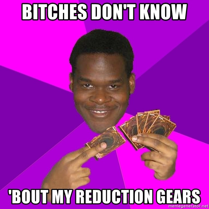 Cunning Black Strategist - Bitches don't know 'Bout my reduction gears