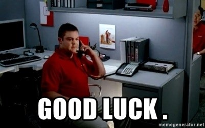 Jake From State Farm - Good Luck .