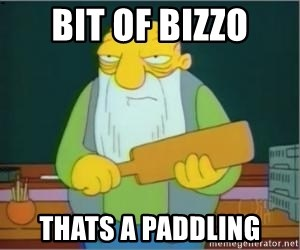 Jasper Beardly - Bit of bizzo Thats a paddling