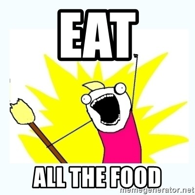 All the things - Eat All the food