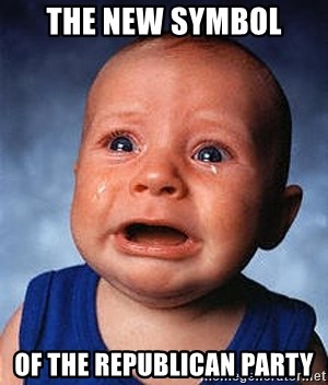 Crying Baby - the new symbol of the republican party