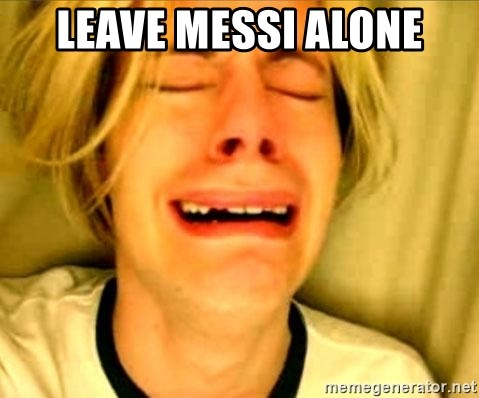 Leave Brittney Alone - Leave Messi alone