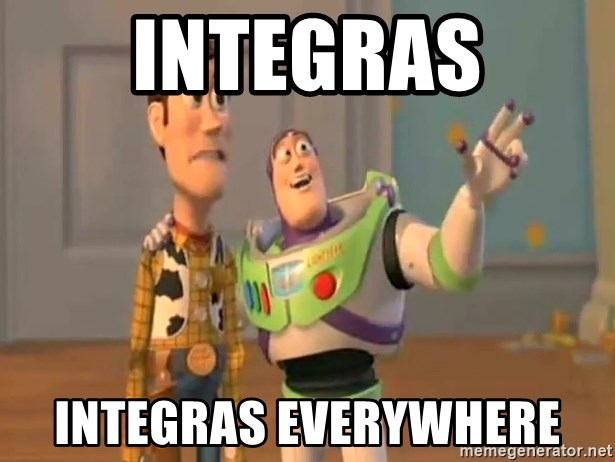 X, X Everywhere  - Integras Integras everywhere
