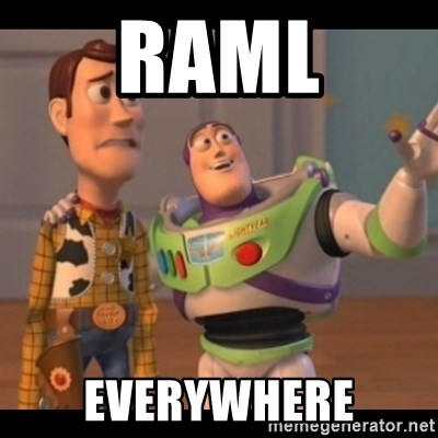 X, X Everywhere  - RAML Everywhere