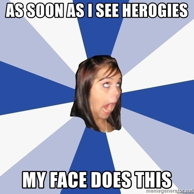 Annoying Facebook Girl - AS SOON AS I SEE HEROGIES MY FACE DOES THIS