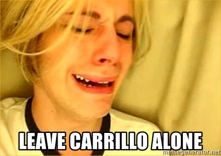 leave britney alone -  leave carrillo alone