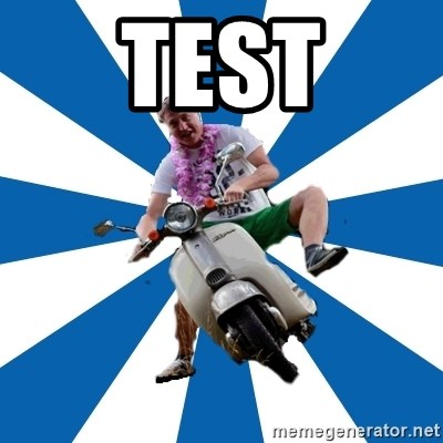 Typical Retroscooterist  - test