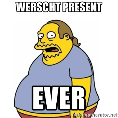 Comic Book Guy Worst Ever - WERSCHT PRESENT EVER