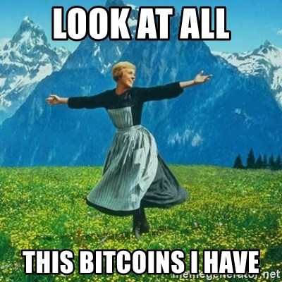 Look at All the Fucks I Give - Look at all this bitcoins i have