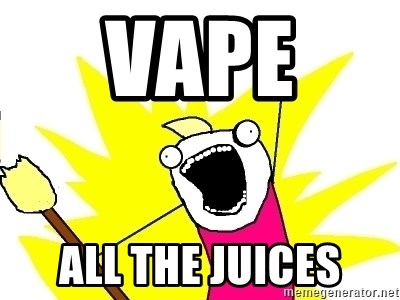 X ALL THE THINGS - VAPE  ALL THE JUICES