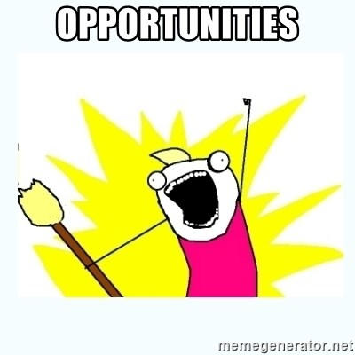 All the things - Opportunities