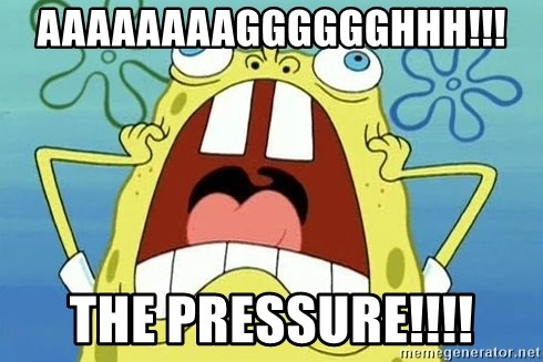 Enraged Spongebob - AAAAAAAAGGGGGGHHH!!! THE PRESSURe!!!!
