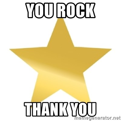 Gold Star Jimmy - you rock thank you