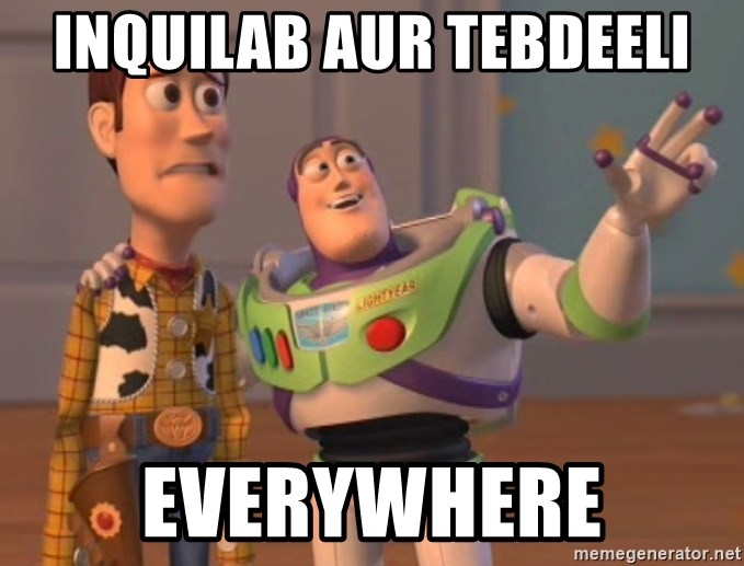 Tseverywhere - Inquilab aur Tebdeeli Everywhere