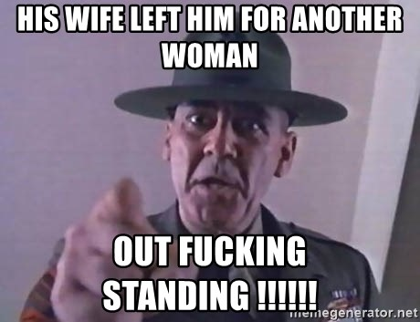 wife left for another woman