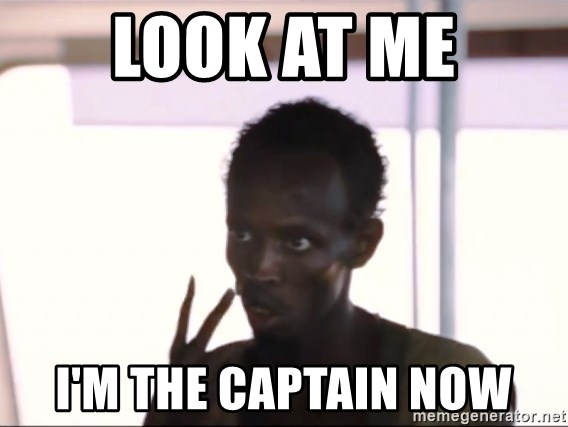 Captain Phillips2 - Look at me I'm the Captain Now